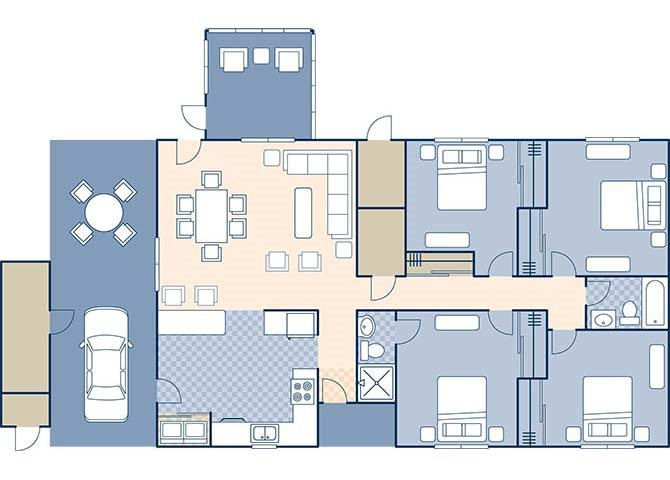 Bennett Shores West 1355 Floor Plan 10